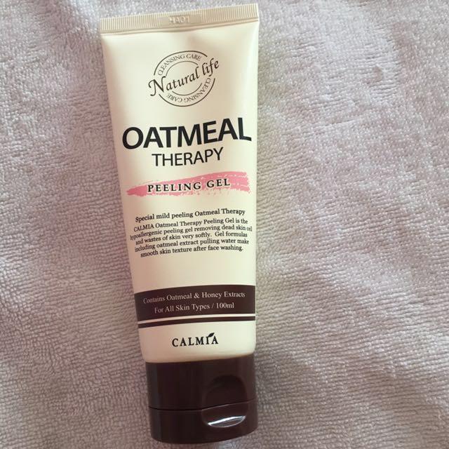 Calmia Natural Life Oatmeal Peeling Gel