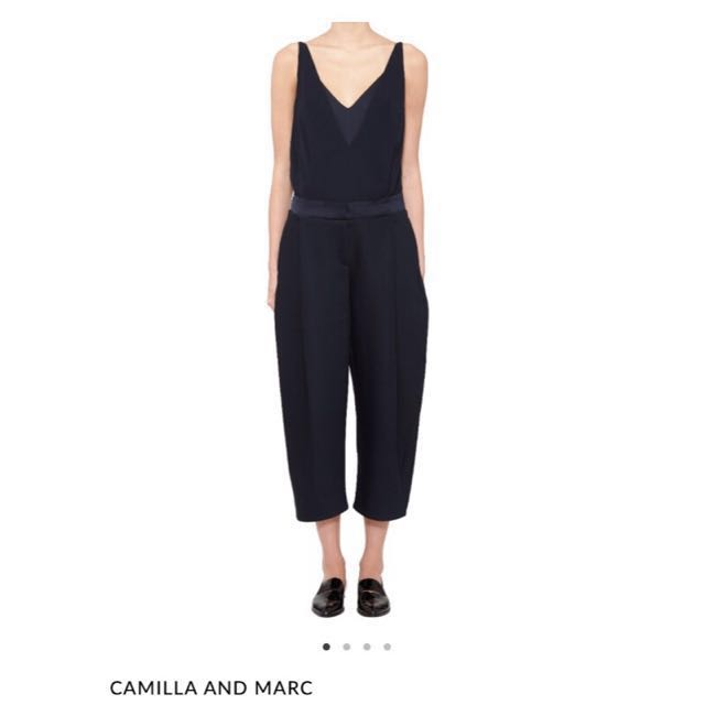Camilla and Marc Navy Jumpsuit - Size 8