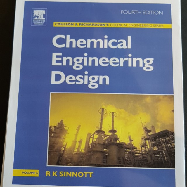 Chemical Engineering Design Coulson Richardson Volume 6 Books Stationery Textbooks On Carousell