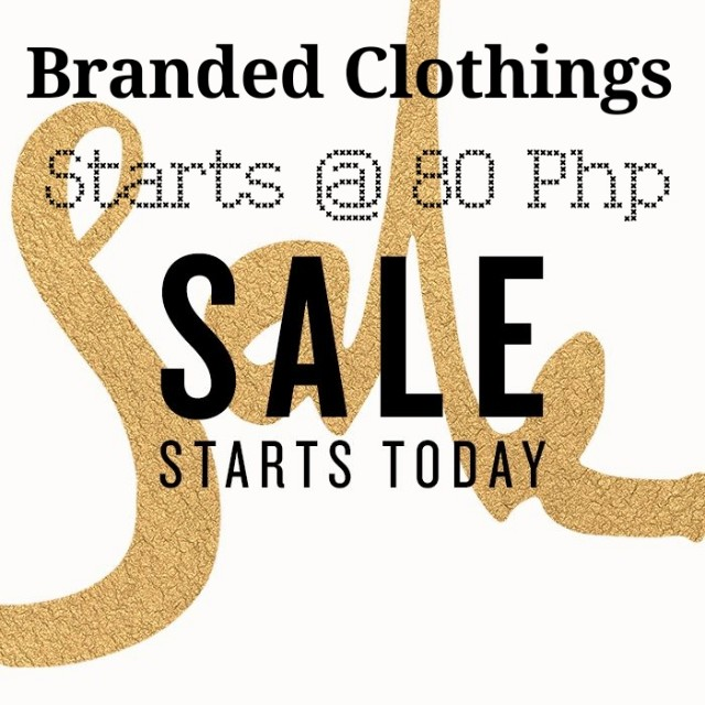 CLOSET CLEAN UP!! 80PHP