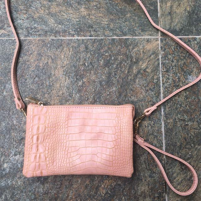 CMG Nude Pink Sling Bag