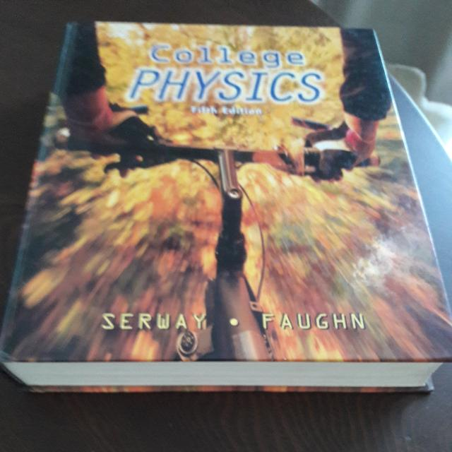College Physics, 5th Edition (Hardcover), by Serway and Faughn