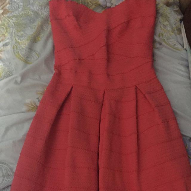 Coral Pink Dress