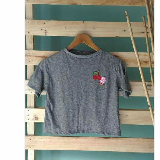 Crop Top with Patches
