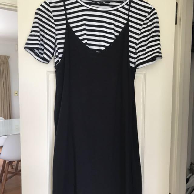 Dress and Crop top