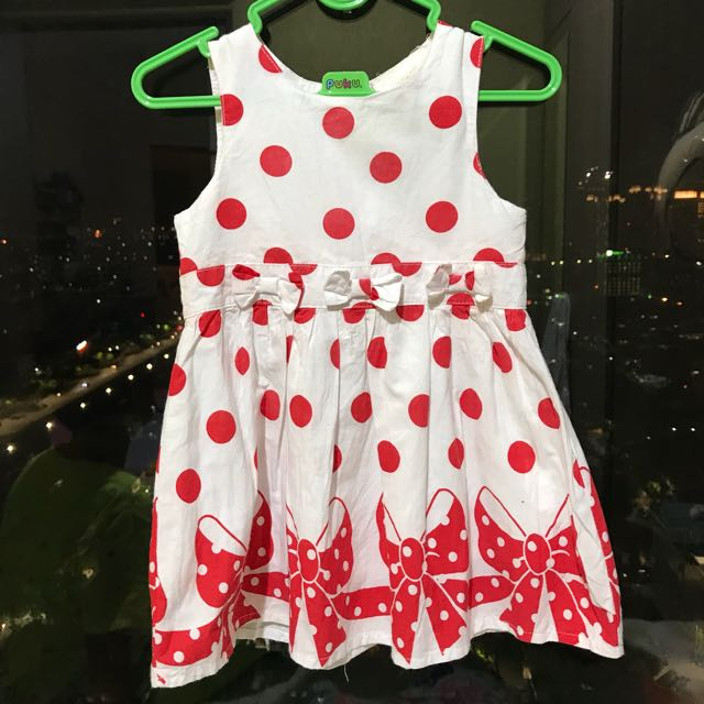 dress baby 6-12 bulan (harga pas)