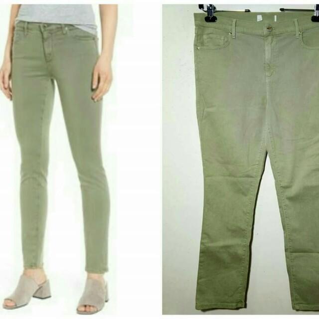 Dusty Green Jeans