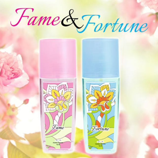 Fame and Fortune Fragrance from Spain