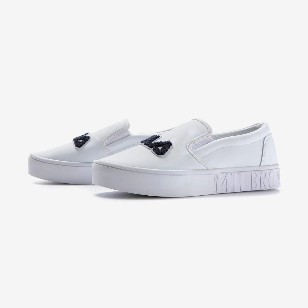 e5ca675b60dc  FILA  Court Slip-on White