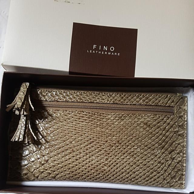 Available! Fino Snakeskin Slim Wallet