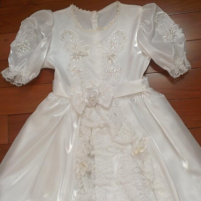 Flower Girl Dress (Size 7/8)