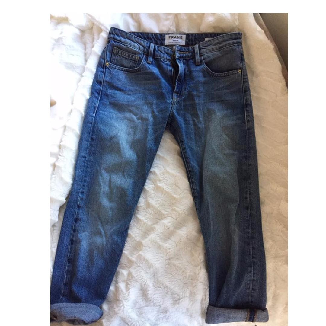 *REDUCED* FRAME Le Grand Garcon Jeans (boyfriend style) size 24