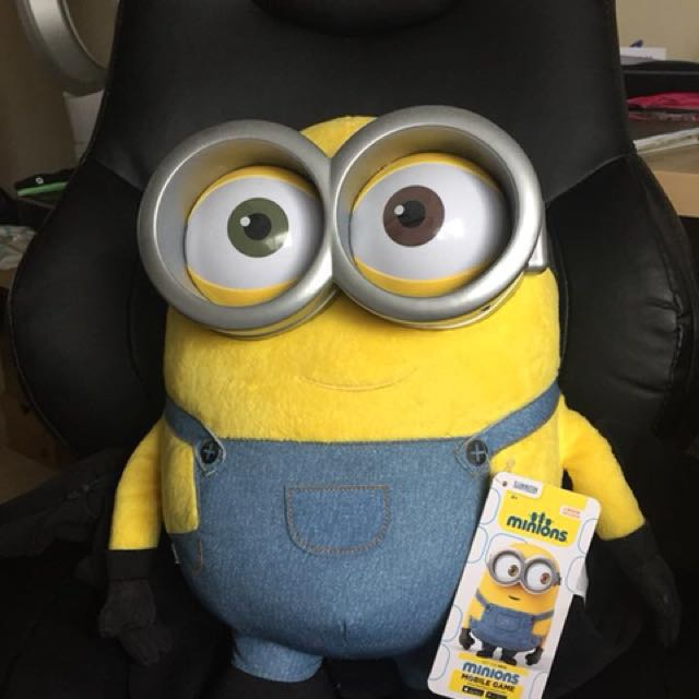 Giant talking minion Bob