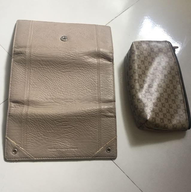 Girbaud wallet free pouch