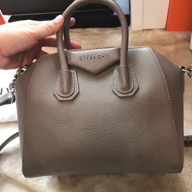 Givenchy Mini Antigona Etoupe