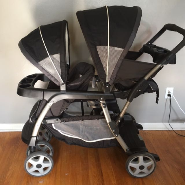 Graco - Ready2Grow Classic Connect LX Double Stroller