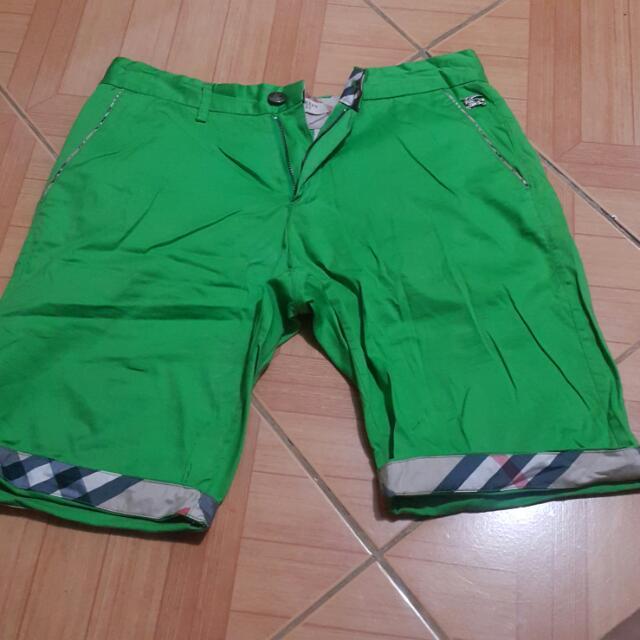Green Short (Maong)