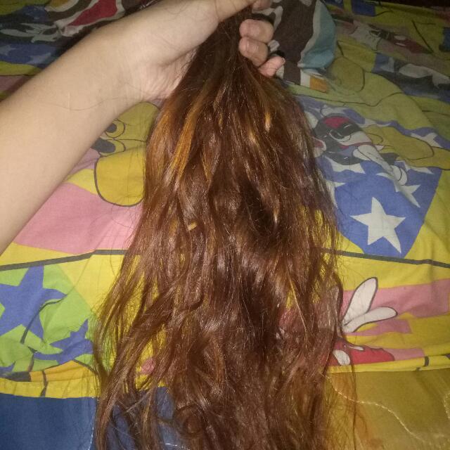 Hair extension/rambut sambung