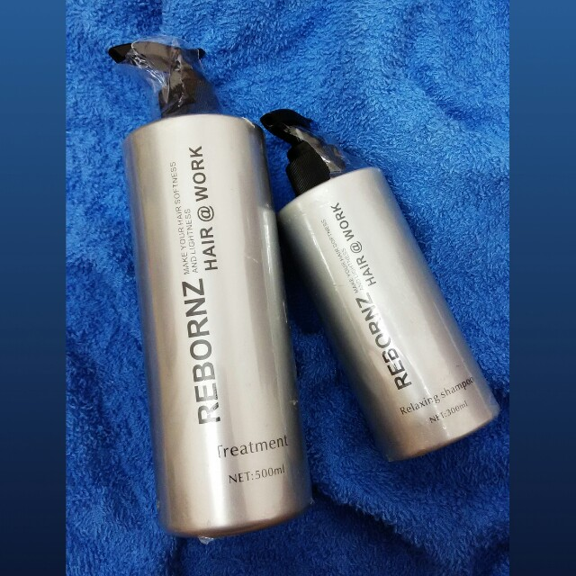 (Free Post) Rebornz Hair Relaxing Shampoo & Treatment