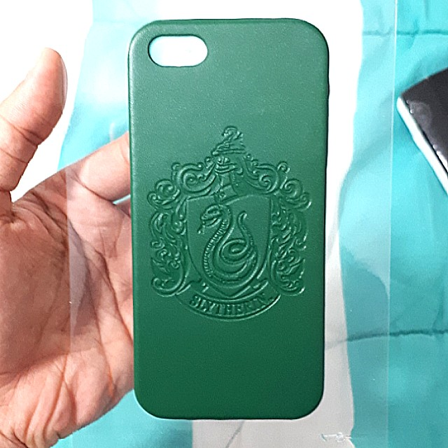 Harry Potter Slytherin Green Iphone 5 case