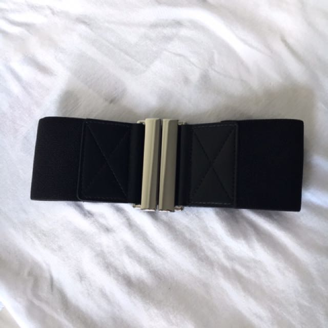 H&M Chic Black Thick Belt