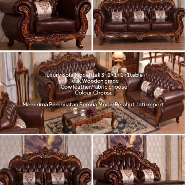 Itali Model Sofa Home Furniture Furniture On Carousell