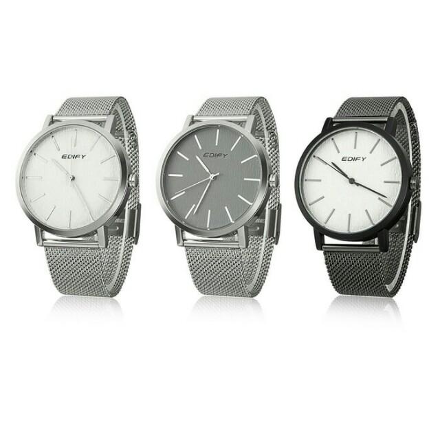 Jam tangan fashion pria EDIFY 81725