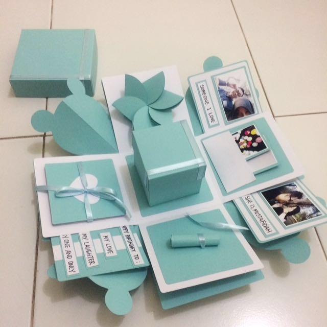 Kado Unik Ulangtahun Anniversary Explosion Box Everything Else