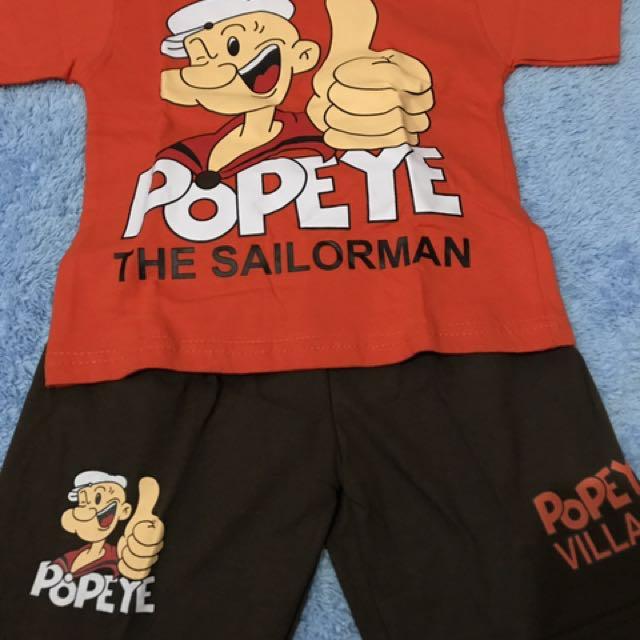 Kaos Anak Popaye