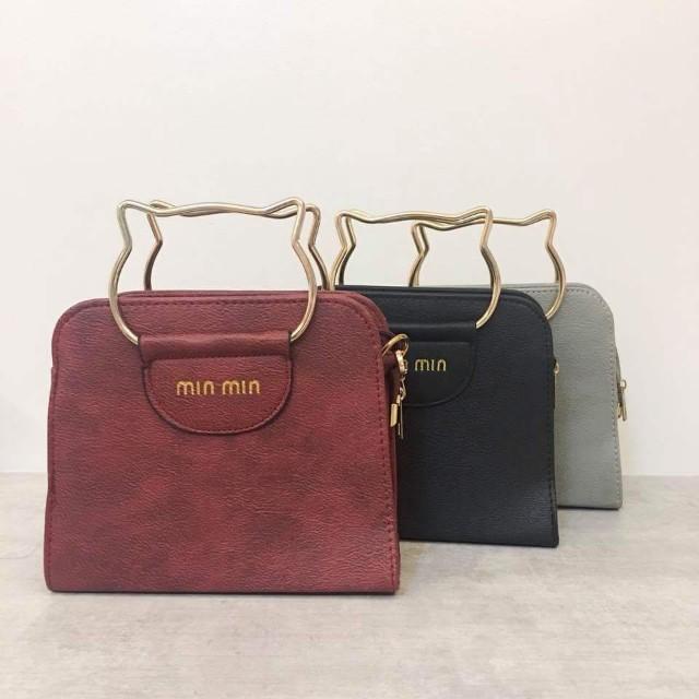 Karen Sling Bag (Red)