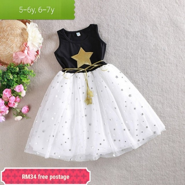 Kids girl star dress
