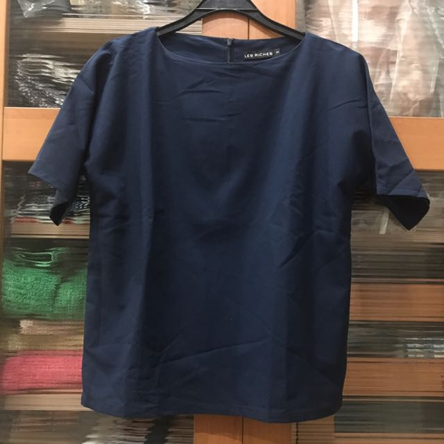 Les Riches Navy Top