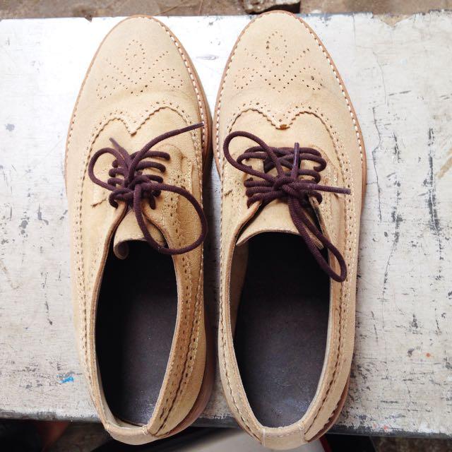 Light Brown Women Heels Sneakers