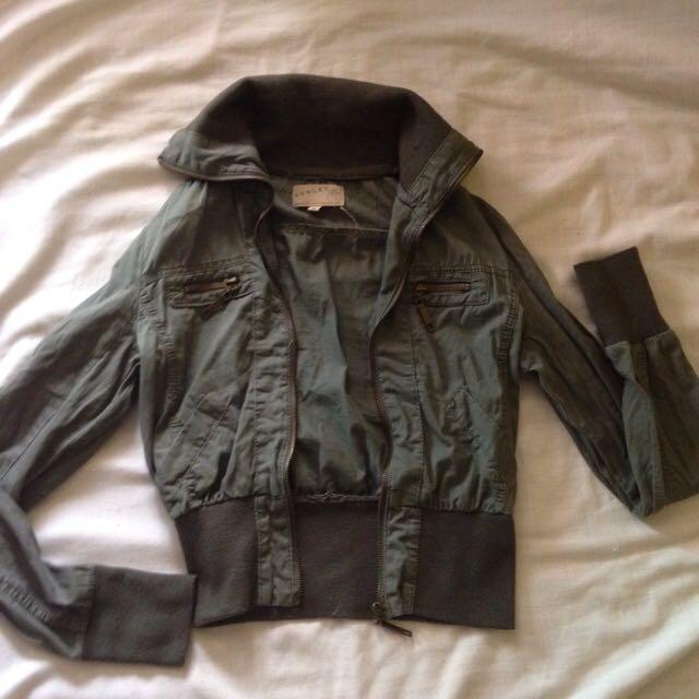 Lightweight Army Green Jacket
