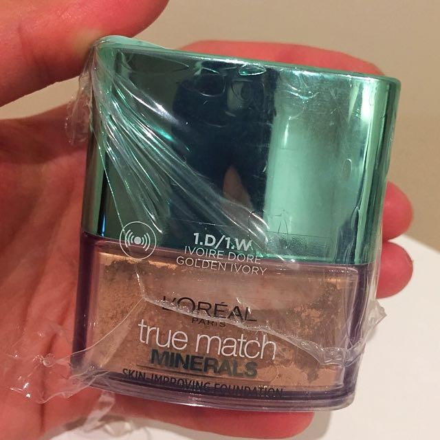 L'oreal True Match Mineral Powder 1W Golden Ivory