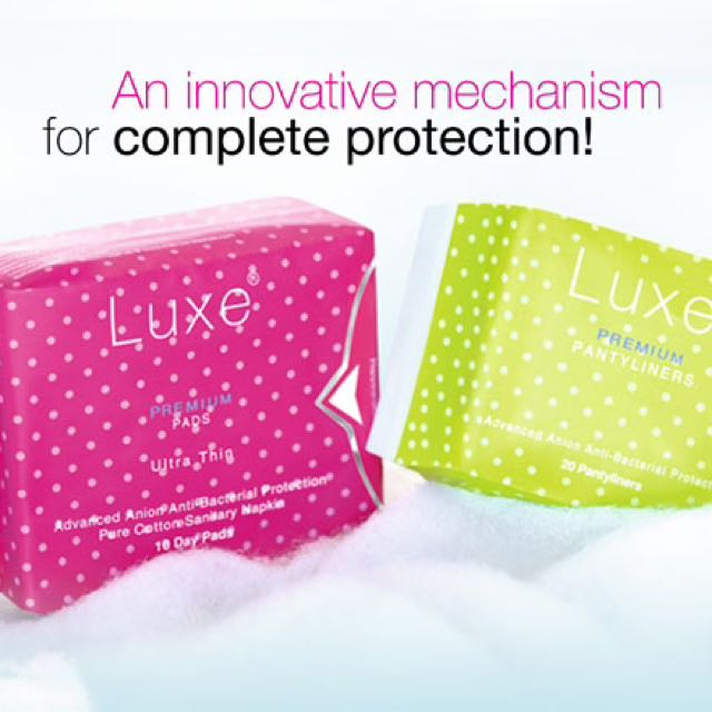 Luxe Premium Pads and Panty Liner