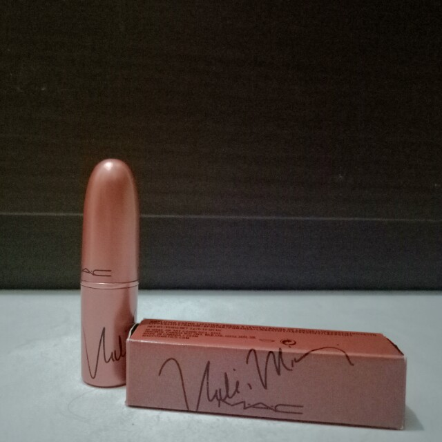 Mac x Nicki Minaj Lipstick Fall edition 2017 Nicki's  Nude