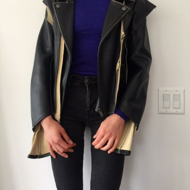 Maison Margiela For H&M Leather Jacket