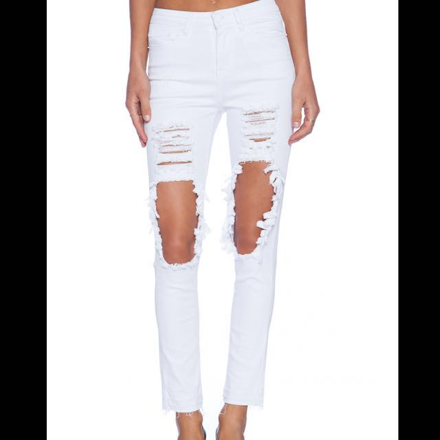 Maurie & Eve Space Skinny Jeans Size 8 never worn