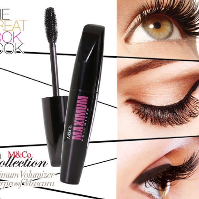 M&Co Maximum Volumizer Waterproof Mascara