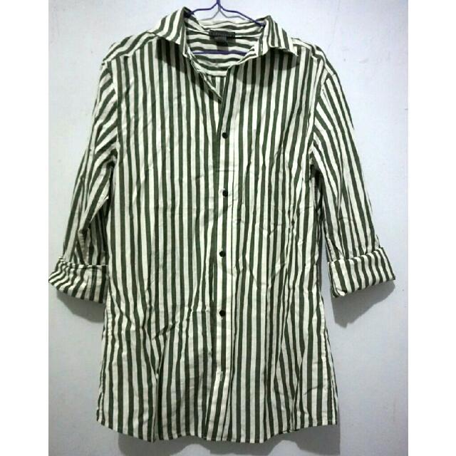 Metaphor Stripe Shirt / Kemeja