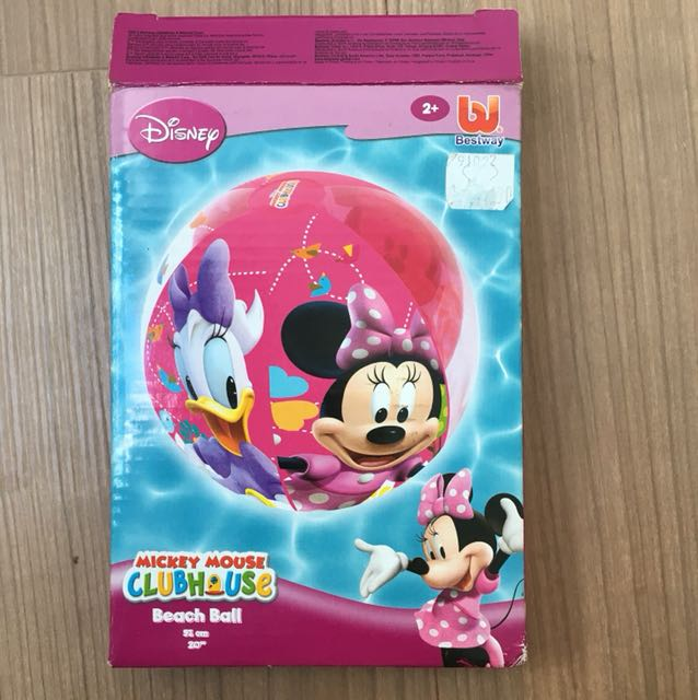 Mickey Mouse Clubhouse Beach Ball Babies Kids Toys Walkers On Carousell