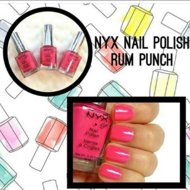 Nail Polish Pink, nude, purple