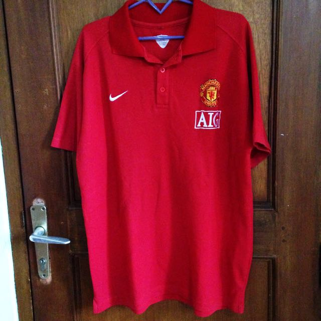 Nike Red Manchester United Shirt