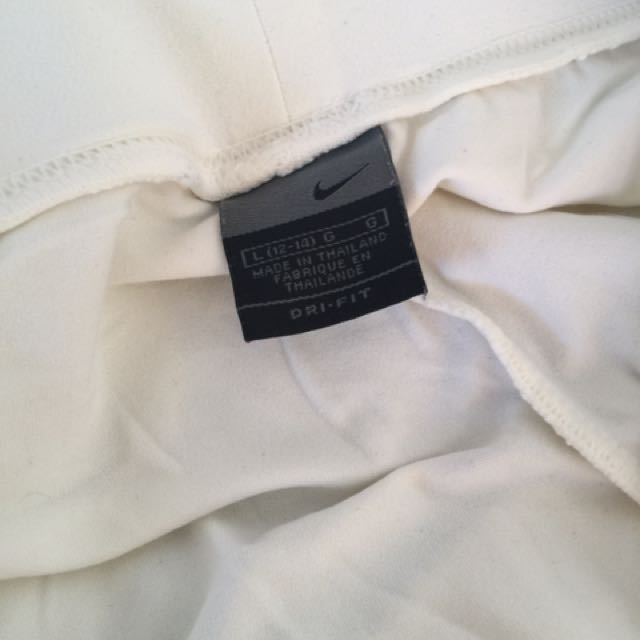 Nike white pants