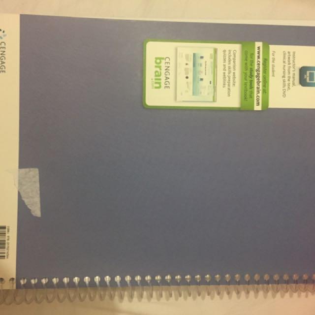 Nursing book - clinical psychomotor skills