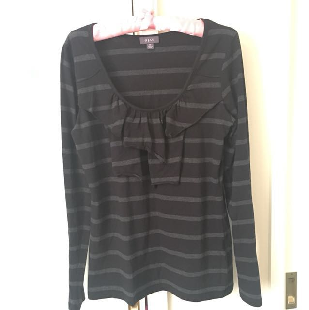 Ojay top size 12