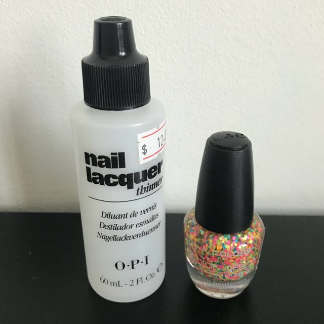 OPI Nail Lacquer Thinner, Health & Beauty, Hand & Foot Care on Carousell