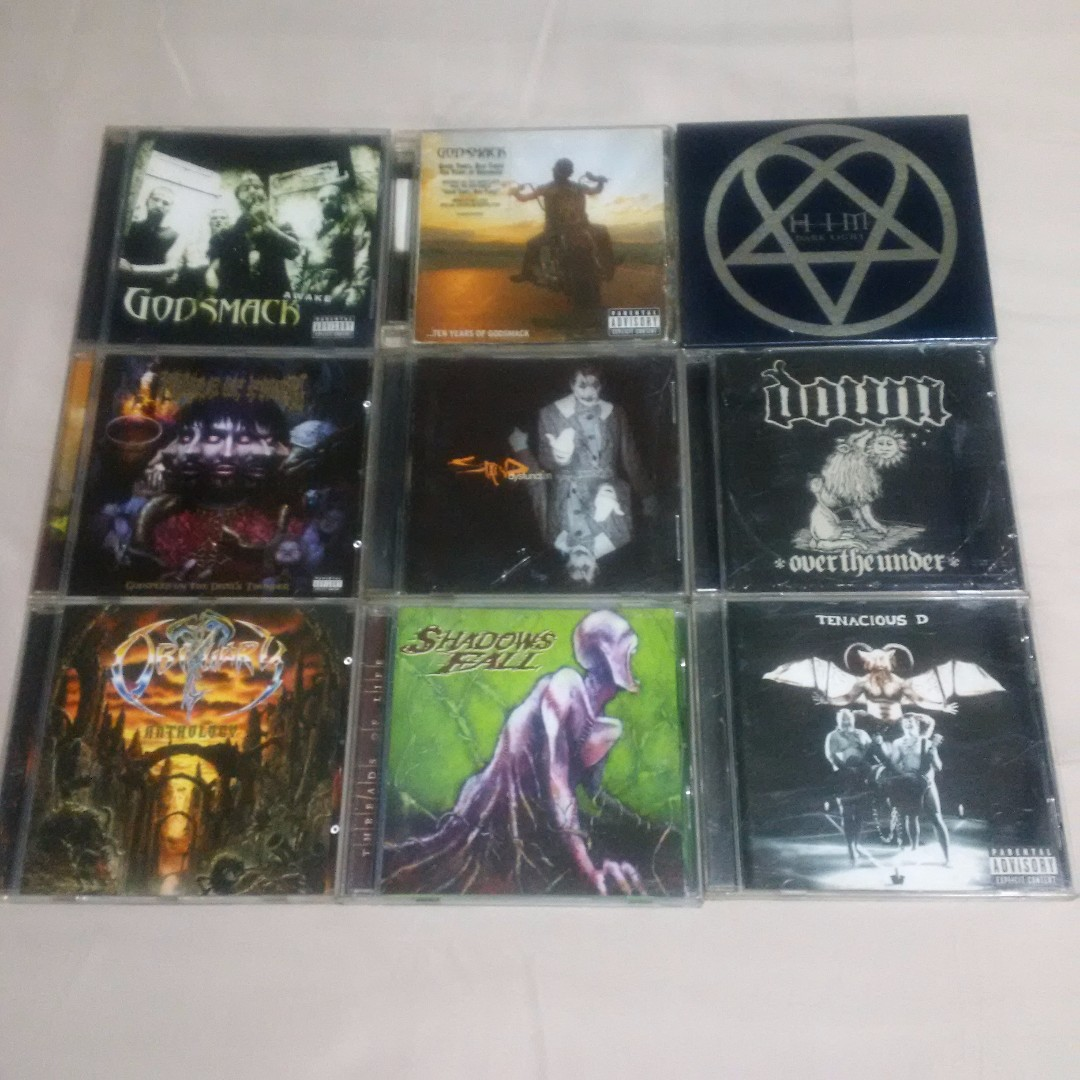 REPRICED : Original Rock/Metal Audio CDs