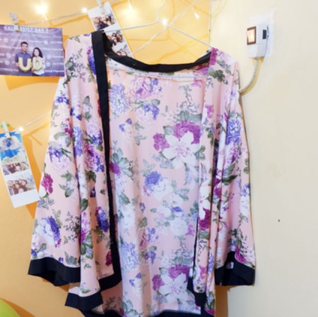 Outer flower pink